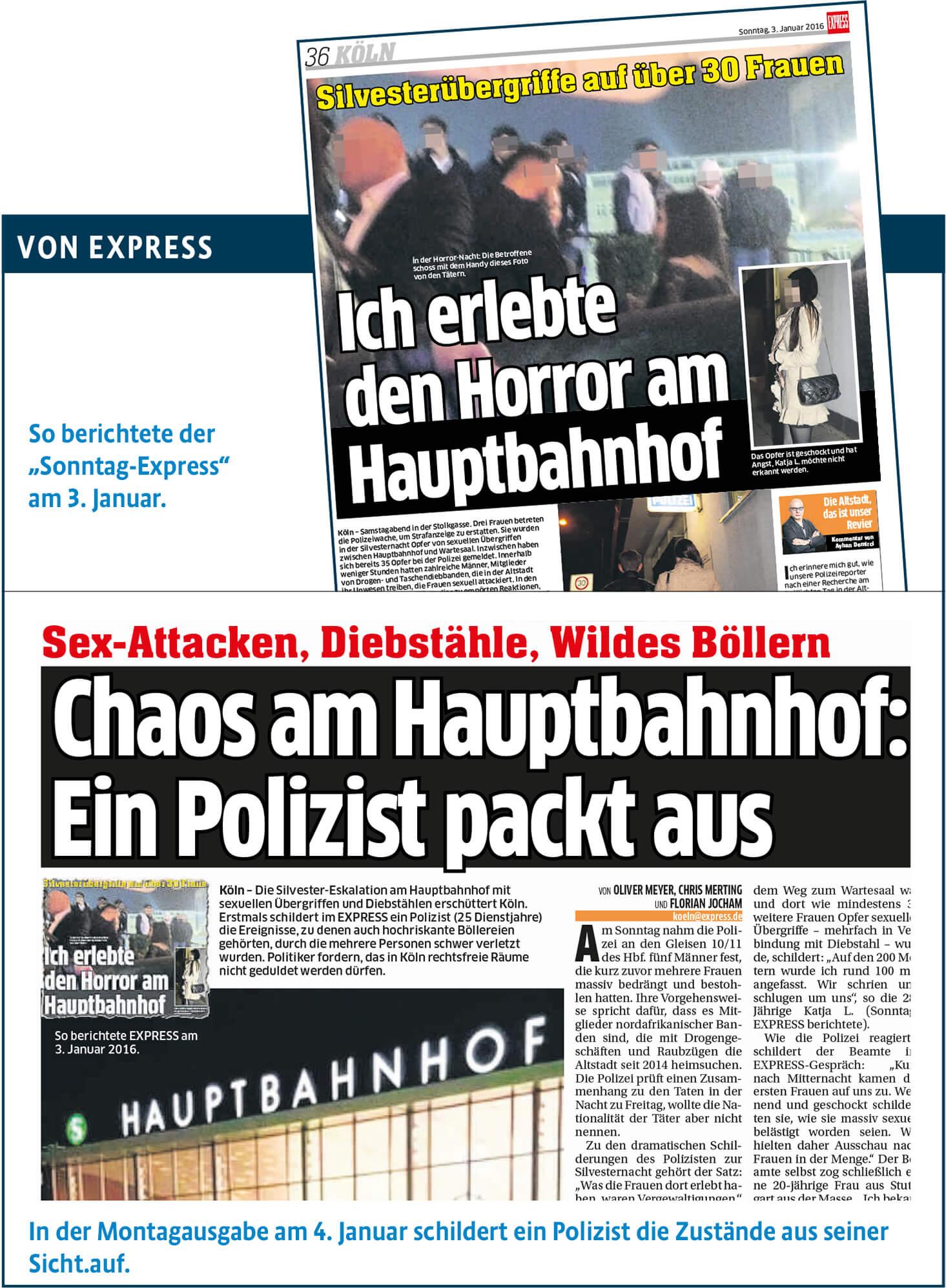express-Berichterstattung